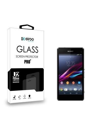 MobilCadde Eiroo Sony Xperia Z1 Compact Temperli Cam Ekran Koruyucu Renkli